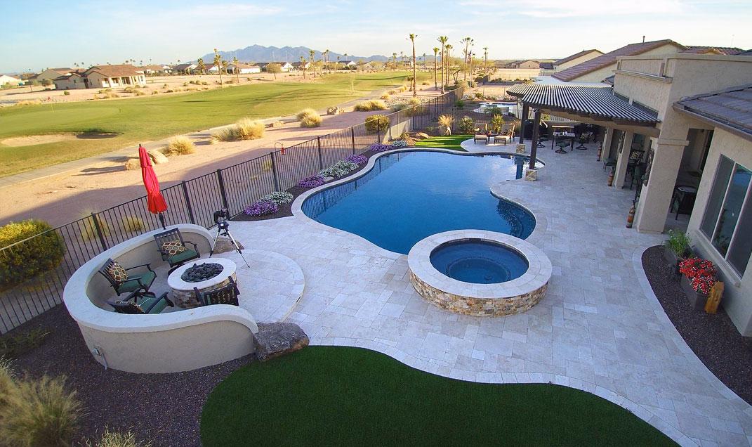 Anasazi AZ Swimming Pool and hot tub